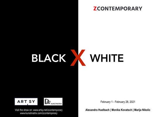 BLACK X WHITE, installation view