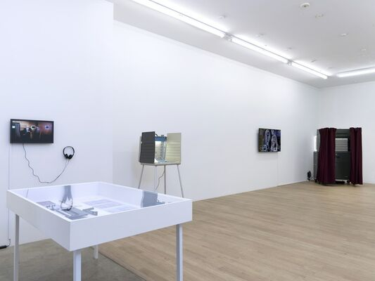 """R. Luke DuBois: """"The Choice Is Yours"""", installation view"""