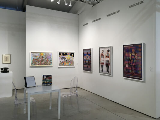Christopher Cutts Gallery  at Art Miami 2019, installation view