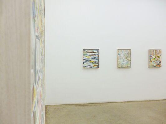 THOMAS HARTMANN: Direkter Umweg - Neue Malerei, installation view