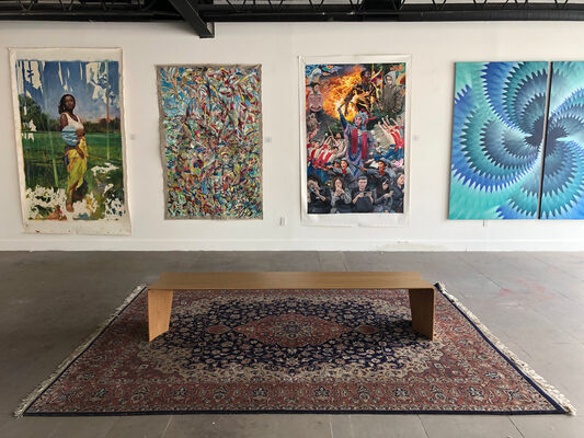 Miami Art Society at Palm Beach Modern + Contemporary  |  Art Wynwood, installation view