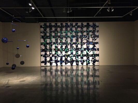 GRAND BLUE, installation view