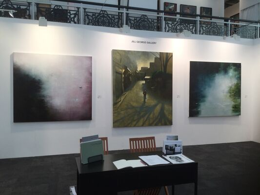 Jill George Gallery at London Art Fair 2020, installation view