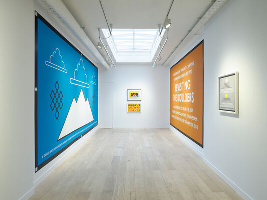 Hamish Fulton: A Decision To Choose Only Walking, installation view