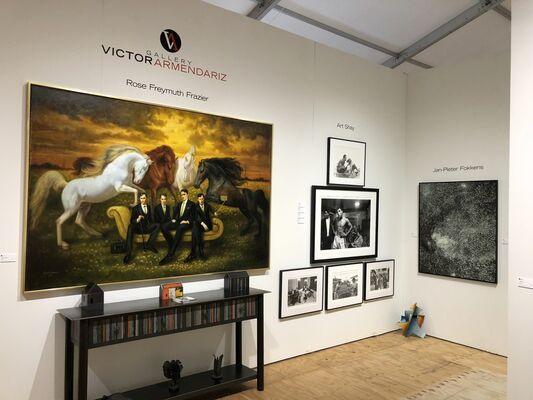 Gallery Victor Armendariz at Market Art + Design 2018, installation view