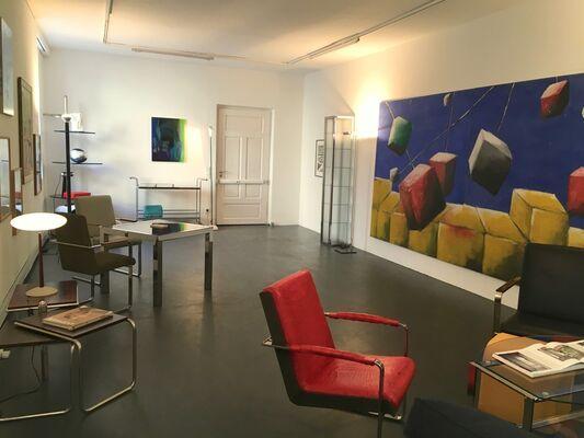 55 | Wohnzimmer - Gert Weber meets old friends, installation view