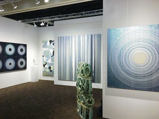 Christopher Martin Gallery at Art Palm Springs 2018, installation view