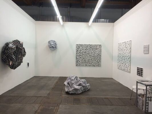 Alberta Pane at Art Brussels 2014, installation view