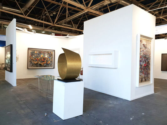 Aurora Vigil-Escalera Art Gallery at Estampa Contemporary Art Fair 2018, installation view