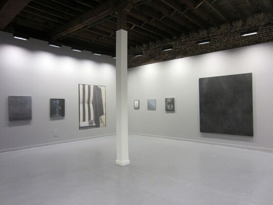 Michael Byron: Syntax Within a Gray Scale 2.0, installation view