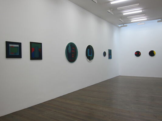 Günter Tuzina, Duo, installation view