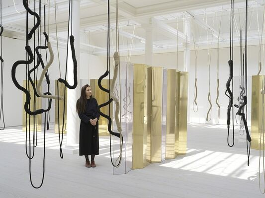 Leonor Antunes: a thousand realities from an original mark, installation view