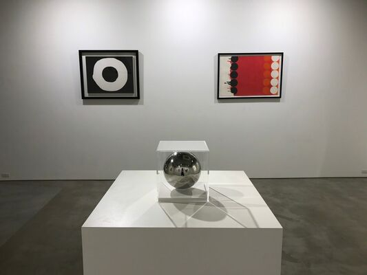 Circles in Motion, installation view