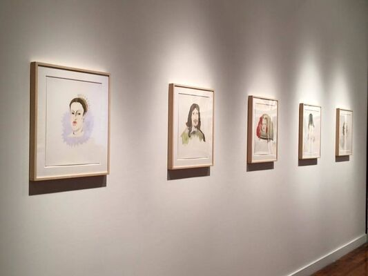 Michelle Vaughan - Generations, installation view