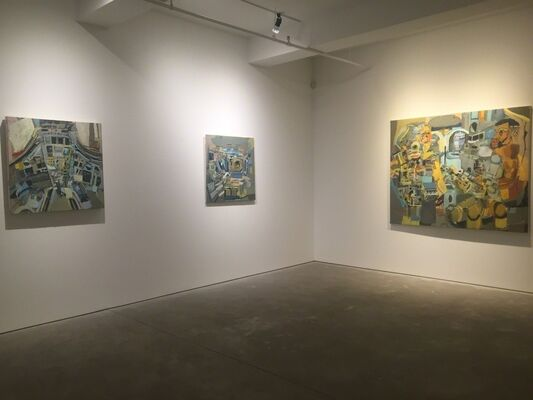 Lineage of Time: Clientel Steed, installation view