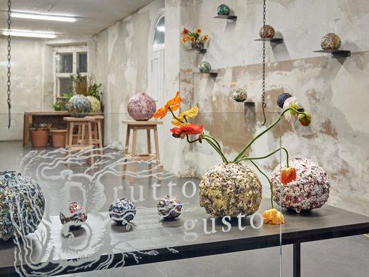 Pearls, Bombs & Moonjars, installation view