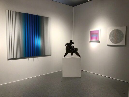 Mark Hachem Gallery at Art Miami 2018, installation view