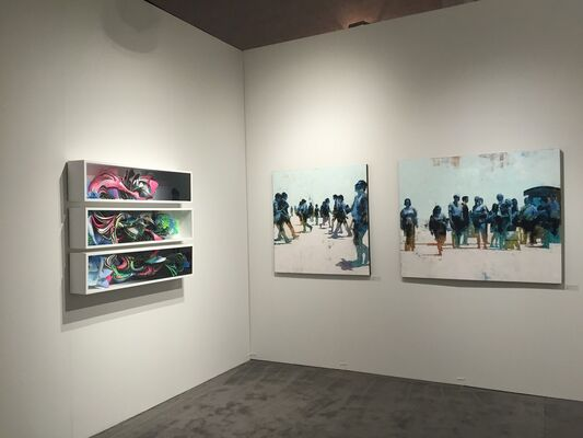 Hashimoto Contemporary at Miami Project 2015, installation view