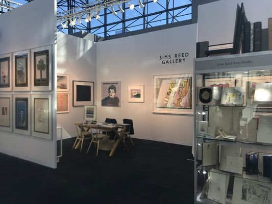 Sims Reed Gallery at IFPDA Fine Art Print Fair 2018, installation view