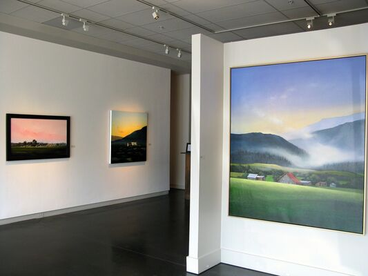 """Michael Gregory """"Here and There"""", installation view"""