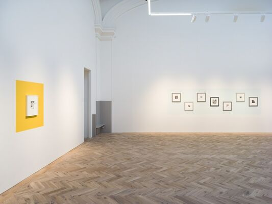 Sometimes I disappear, installation view