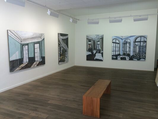 Tobias Weber, installation view