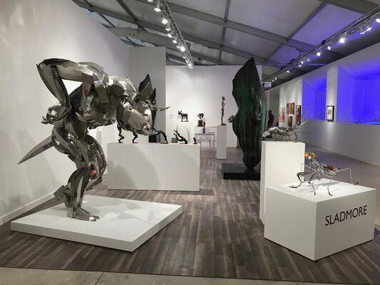 Sladmore Contemporary at Art Miami 2018, installation view