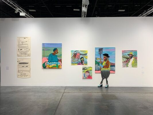 Stevenson at Art Basel in Miami Beach 2019, installation view