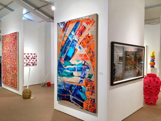 UNIX Gallery at Palm Beach Modern + Contemporary 2018, installation view