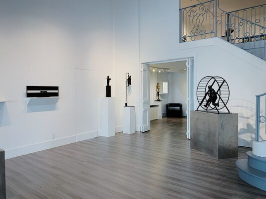 Jim Rennert: With These Hands, installation view