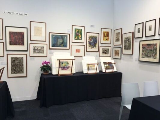 Susan Teller Gallery at IFPDA Fine Art Print Fair 2018, installation view