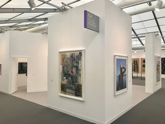 Stevenson at Frieze London 2018, installation view