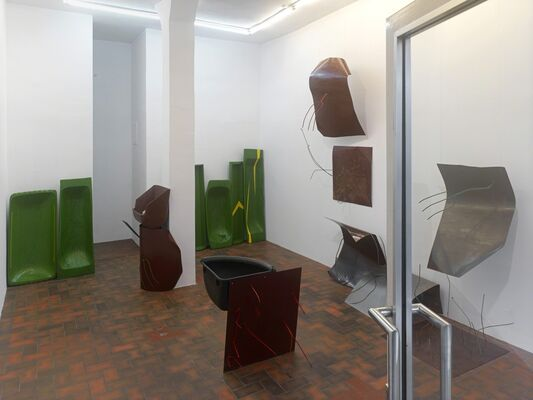Olga Balema: Blasted Heath, installation view