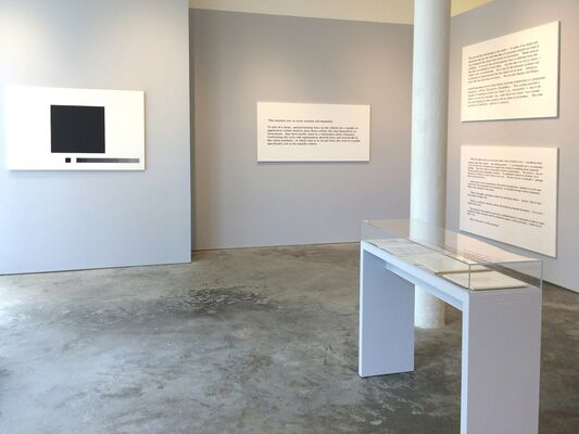 Art & Language, Paintings I, 1966, These Scenes, 2016, installation view