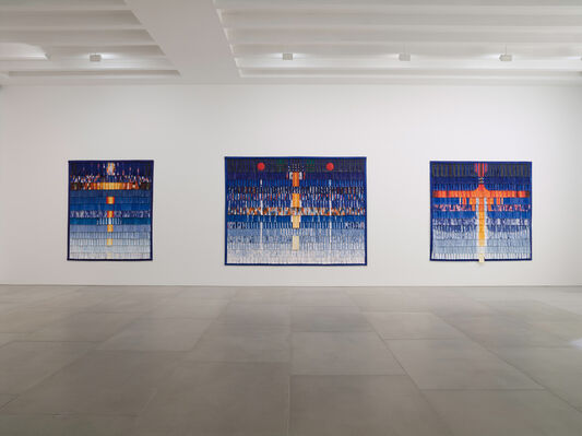 Symphonie en couleur, installation view
