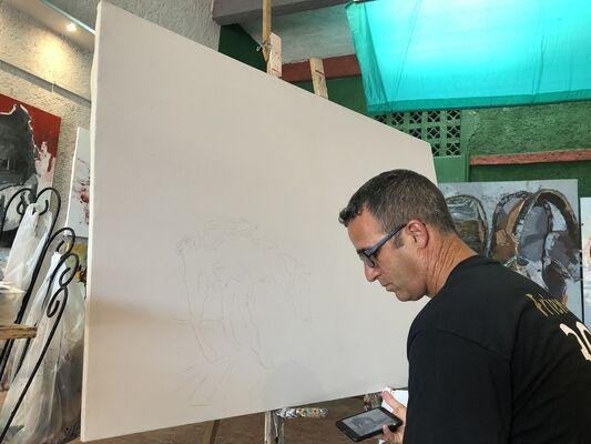 Adrian Socorro, installation view