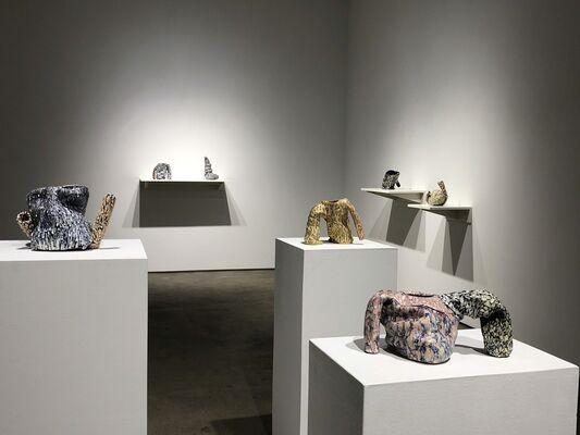 Elisa D'Arrigo - In the Moment | Martha Clippinger - Pieces, installation view