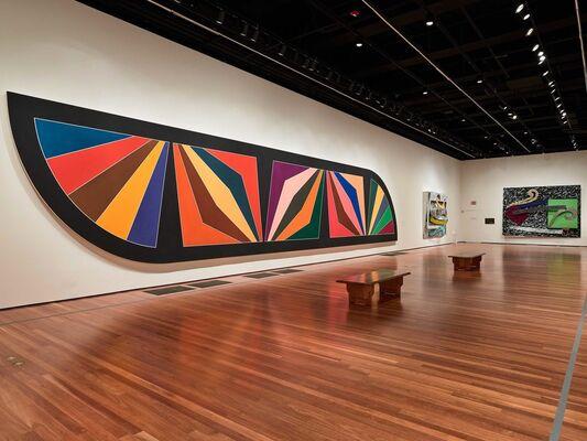 Frank Stella: A Retrospective, installation view