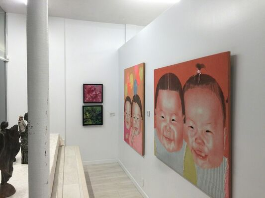 Chinese New Year Exhibition, installation view