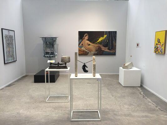 Galerie Geraldine Banier at Art Paris 2016, installation view