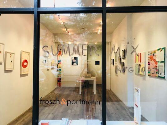 SUMMER MIX, installation view