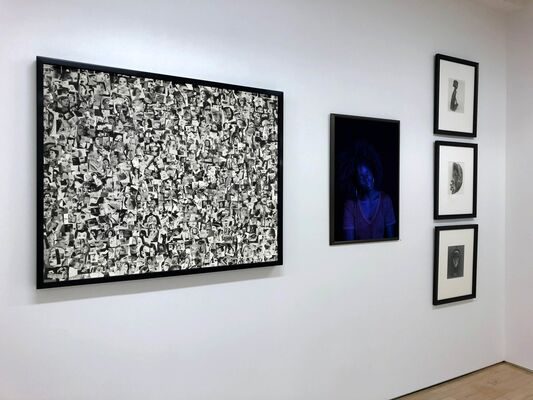 35th Anniversary Celebration, installation view