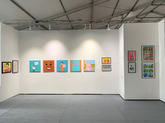 GR Gallery at SCOPE Miami Beach 2019, installation view