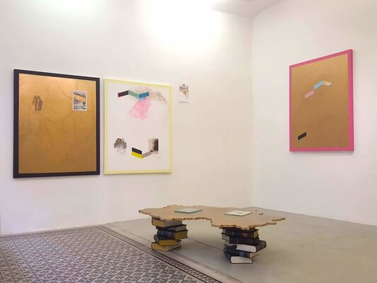 FLORIAN NÄHRER. The Golden Age II, installation view