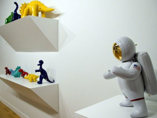 Because I Can't Sing or Dance: Sculptures by Brett Kern, installation view