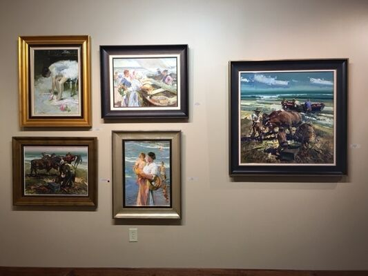 The Valencian Tradition, installation view