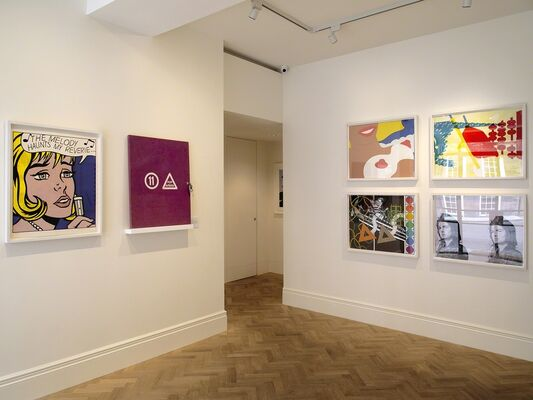 Reflections on Pop, installation view