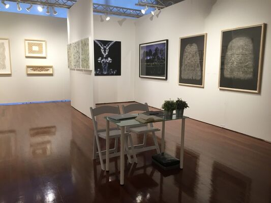 Art Vitam at Art on Paper Miami 2015, installation view