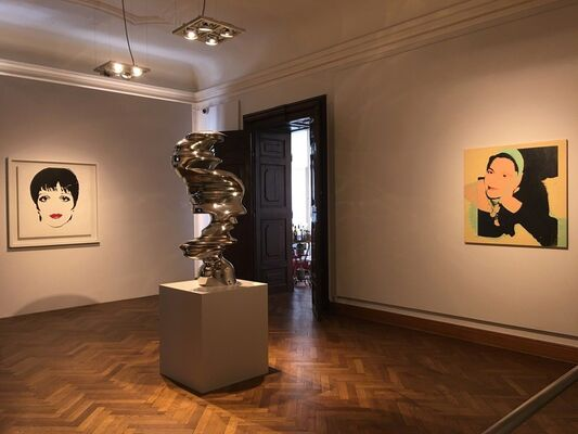 Andy Warhol - Portraits, installation view