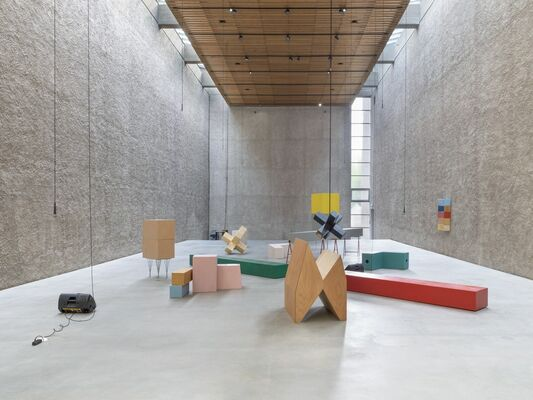David Zink Yi - Being the Measure, installation view